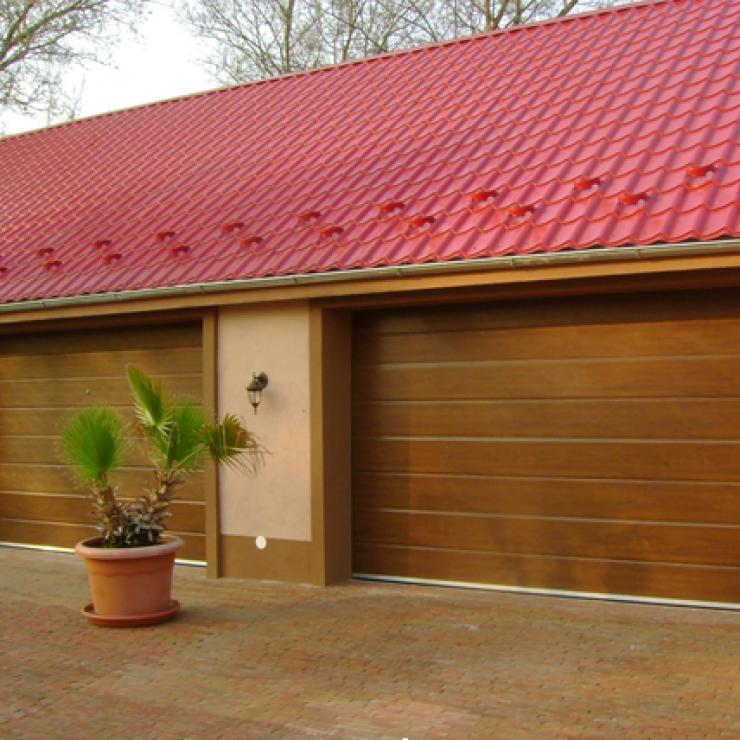 Сегментни гаражни врати